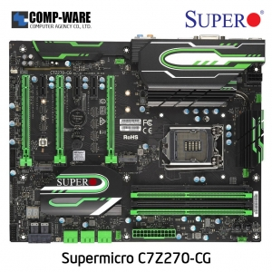 Supermicro C7Z270-CG Intel Z270 Chipset ATX Motherboard LGA1151 SUPERO CORE GAMING
