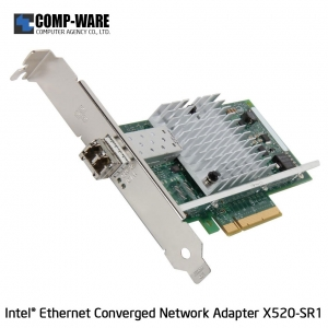 Intel Ethernet Converged Network Adapter X520-SR1 (1-Port) LC Fiber Optic Connector