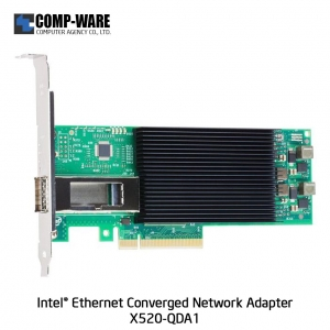 Intel Ethernet Converged Network Adapter X520-QDA1 (1-Port) QSFP+DAC Connector