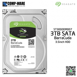 Seagate 3TB BarraCuda SATA 6Gb/s 5400RPM 256MB Cache 3.5-Inch Internal Hard Drive (ST3000DM007)