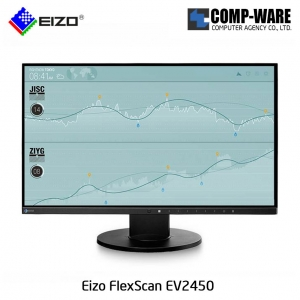 "Eizo FlexScan EV2450 23.8"" Full HD IPS LED Professional Monitor - Black"