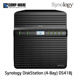 Synology DiskStation (4-Bay) DS418J (1GB RAM)