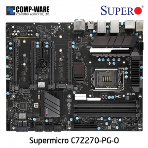 Supermicro C7Z270-PG Intel Z270 Chipset ATX Motherboard LGA1151 SUPERO PROFESSIONAL GAMING