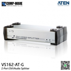 ATEN 2-Port DVI/Audio Splitter VS162-AT-G