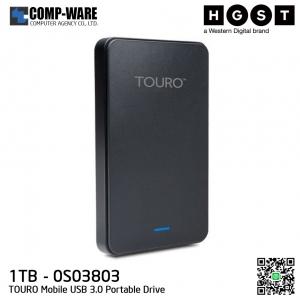 HGST TOURO Mobile USB 3.0 1TB Portable Drive (0S03803)