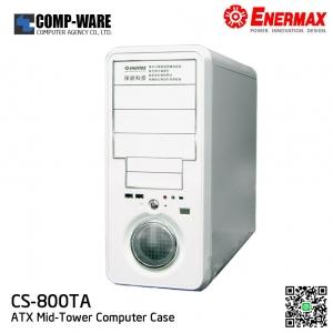 Enermax CS-800TA White ATX Mid Tower Computer Case