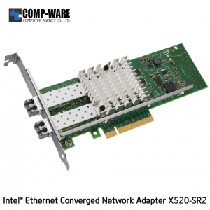 Intel Ethernet Converged Network Adapter X520-SR2 (2-Port) LC Fiber Optic Connector