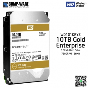 WD Gold 10TB Enterprise Class Hard Drive 7200RPM SATA 6Gb/s 128MB Cache 3.5Inch - WD121KRYZ