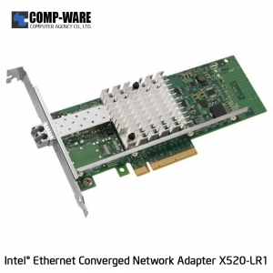 Intel Ethernet Converged Network Adapter X520-LR1 (1-Port) LC Fiber Optic Connector