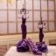 Abocos Dress Jewelry Hanging ตุ๊กตาแขวนเครื่องประดับ แบบเซต3ชิ้น thumbnail 7