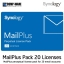 Synology MailPlus License Pack 20 (20 email accounts) thumbnail 1
