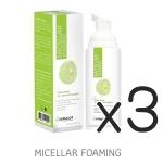 (ซื้อ3 ราคาพิเศษ) Dermcor Micellar Foaming 100 ml. มิซเซลลาร์ โฟมมิ่ง โฟมล้างหน้าสำหรับ ผิวผสมและผิวบอบบางเป็นสิวง่าย
