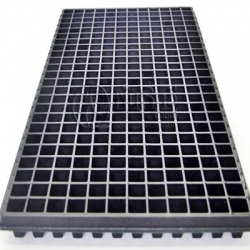 288 holes Black plastic Plant tray **Only available in Thailand