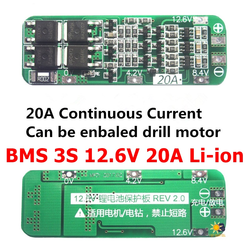 PCB MOS Series Circuit Charging Charger Module Lithium Battery Protection Board